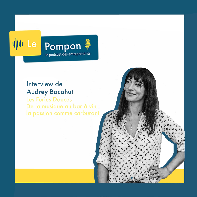 Illustration de l'épisode 25 du Podcast Le Pompon : Audrey Bocahut, Les furies douces