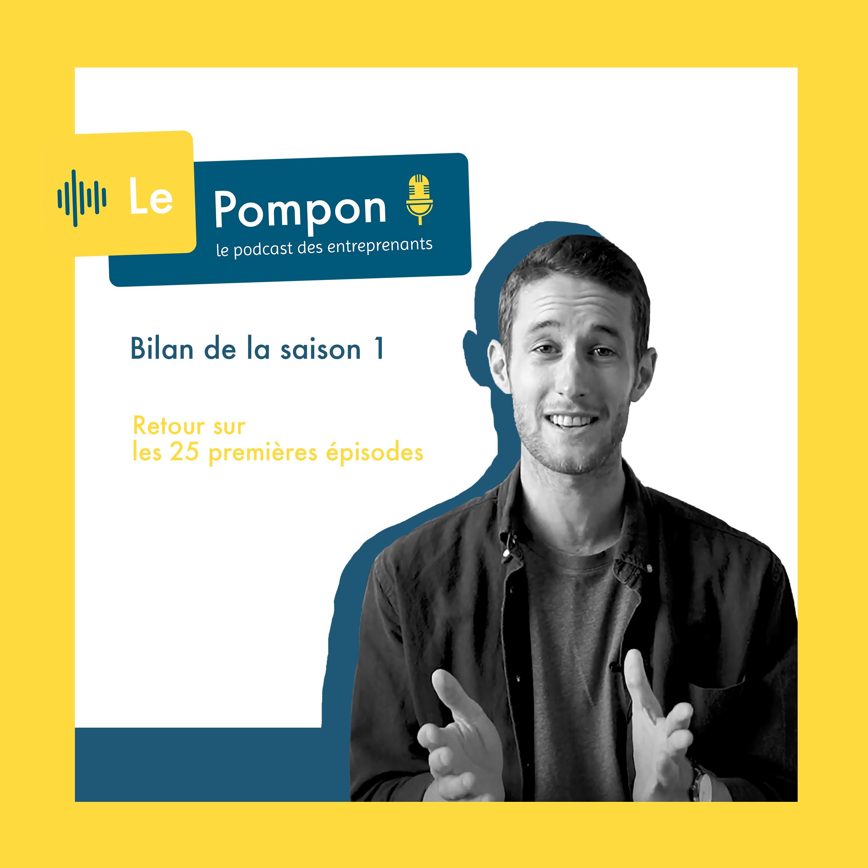 Illustration de l'épisode 26 du Podcast Le Pompon : Bilan de la saison 1