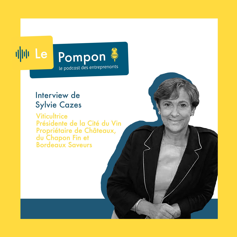 Illustration de l'épisode 34 du Podcast Le Pompon : Sylvie Cazes, Viticultrice
