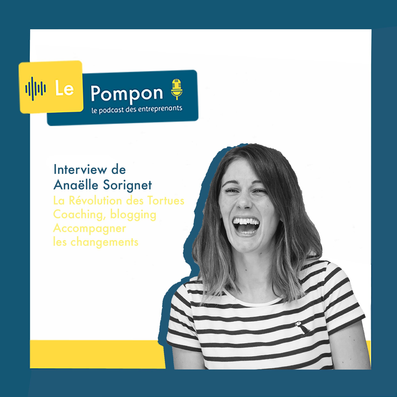 Illustration de l'épisode 5 du Podcast Le Pompon : Anaëlle Sorignet, La révolution des tortues