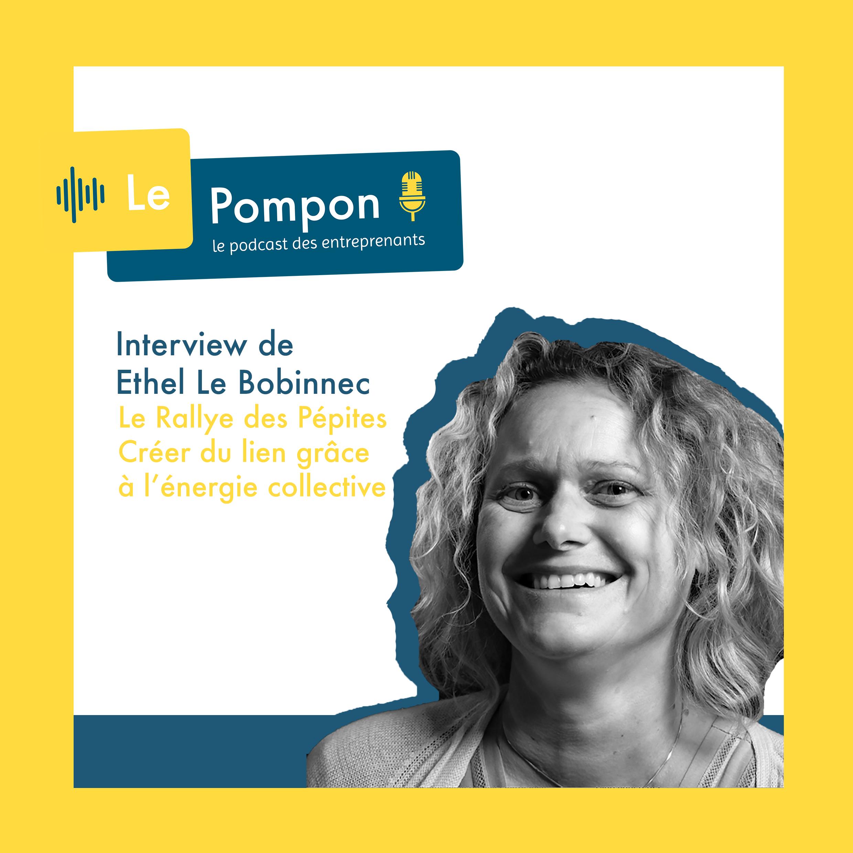 Illustration de l'épisode 44 du Podcast Le Pompon : Ethel Le Bobinnec, Les Rallyes des Pépites